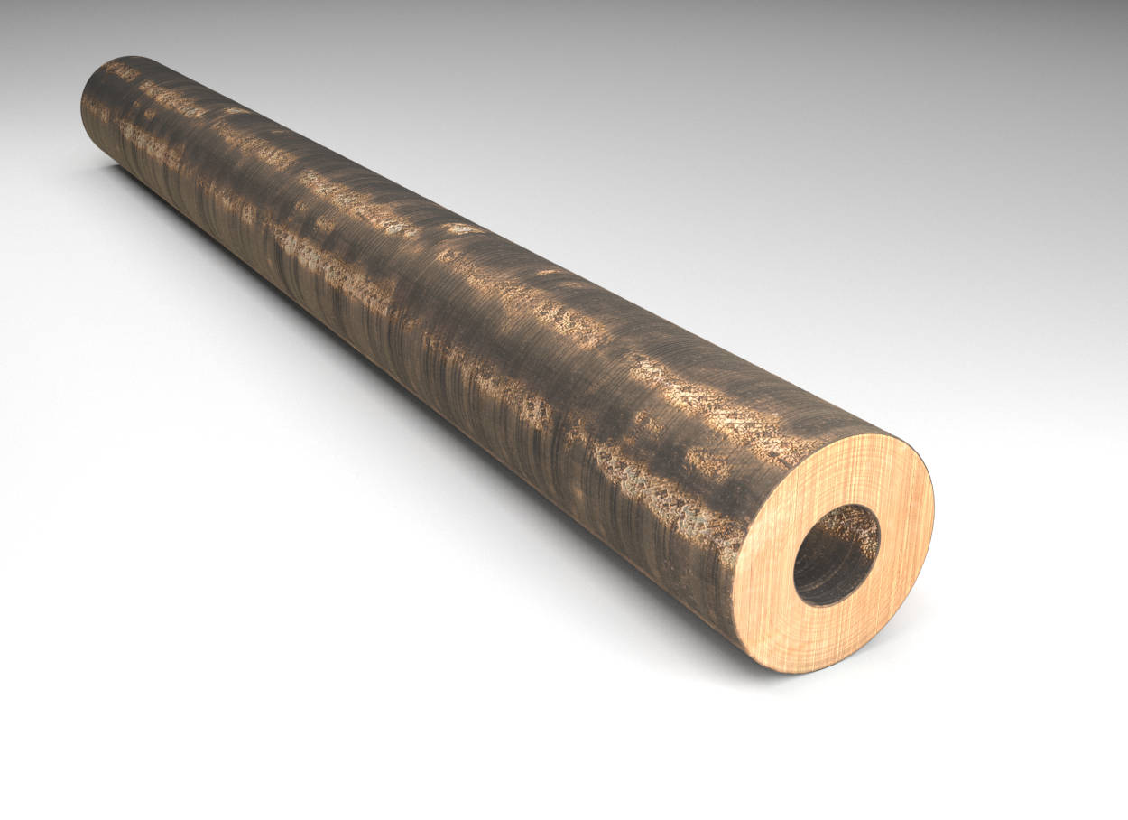 Tin Bronze - Hollow Bar