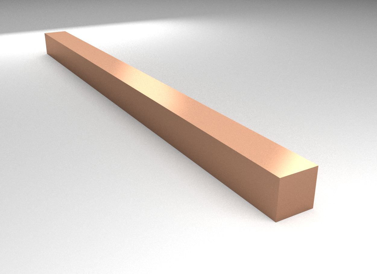 Copper - Square Bar