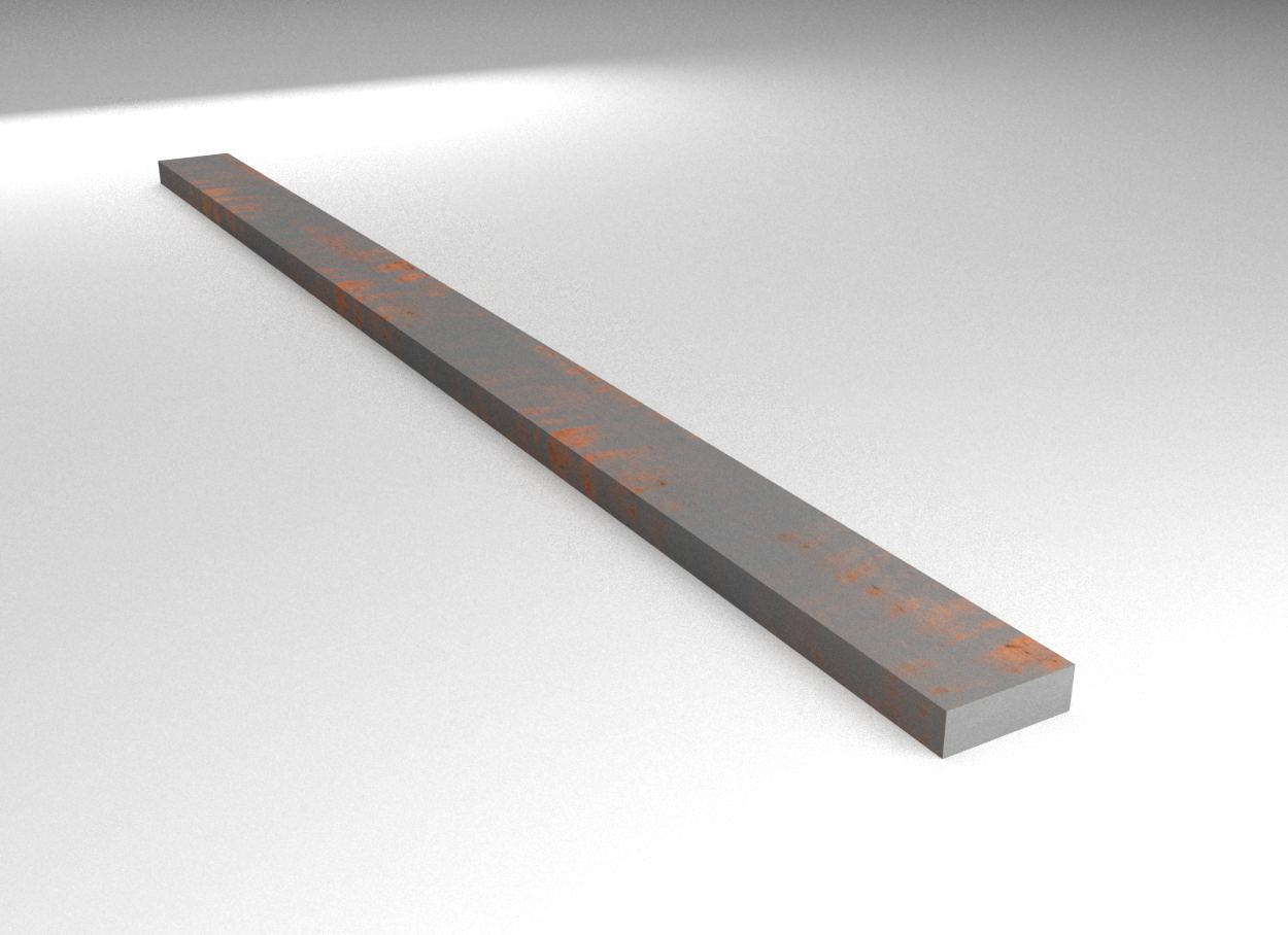Cast Iron - Flat Bar